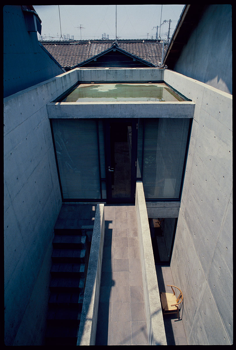 tadao ando row house